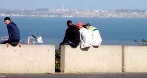 Chomeurs en Algérie