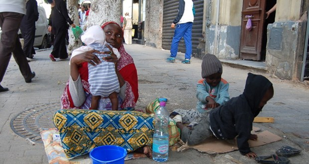 Migrants africains