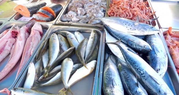 Les poissons du marché