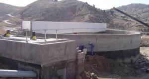 station de traitement des lixiviats