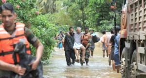 Un million de déplacés dans les camps du Kerala sous les eaux