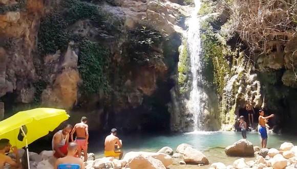 cascades de Traghenia à Ténès