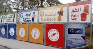 tri sélectif de déchets