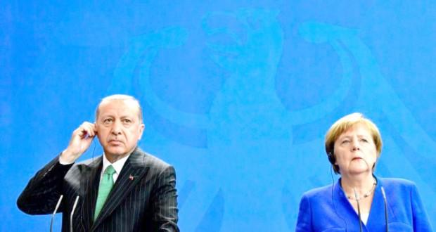 A Berlin, Erdogan plaide pour la libéralisation des visas