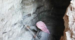 A Idleb (syrie) Des abris souterrains pour se protéger des bombardements