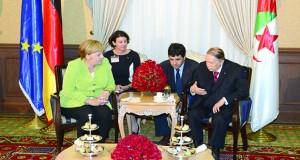 Bouteflika-Merkel