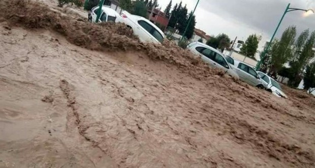 Innondations à Tébessa