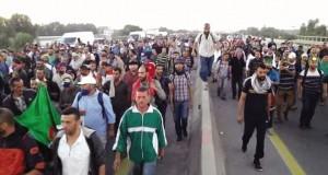 Marche des retraités de l'ANP