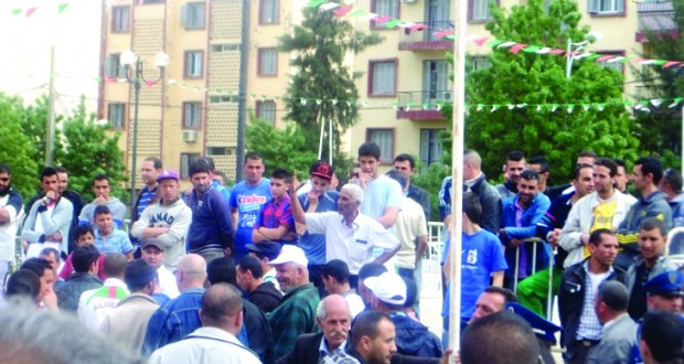 Protestation à Bouira