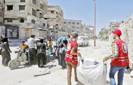 Dans les fiefs rebelles reconquis par Damas L'aide peine à arriver