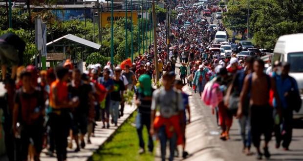 La «caravane» de migrants poursuit sa marche vers les USA