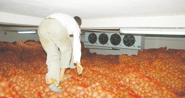 stockage de produits agricoles