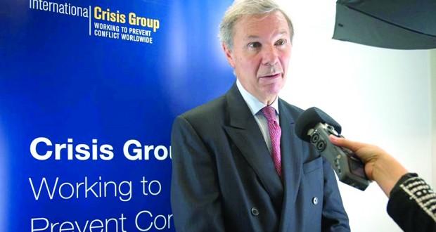 Jean-Marie Guéhenno, PDG de l'International Crisis Group