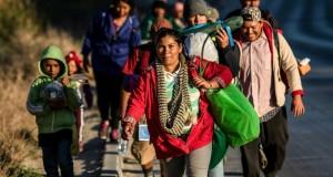 Plus de 2000 migrants sont arrivés à Tijuana à la frontière US