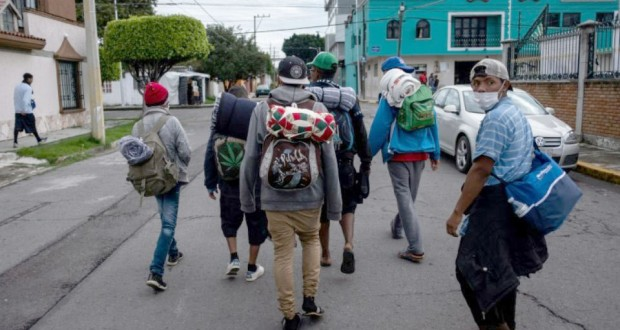 Quelque 4.000 migrants font escale à Mexico