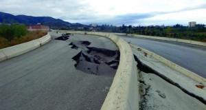 Affaissement de terrain à Azazga
