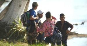 Des centaines de migrants franchissent la frontière mexicaine