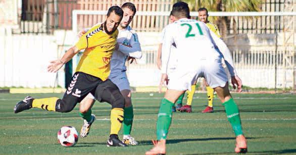 Ligue 2 USMH-ASMO