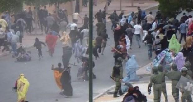 RÉPRESSION MAROCAINE AU SAHARA