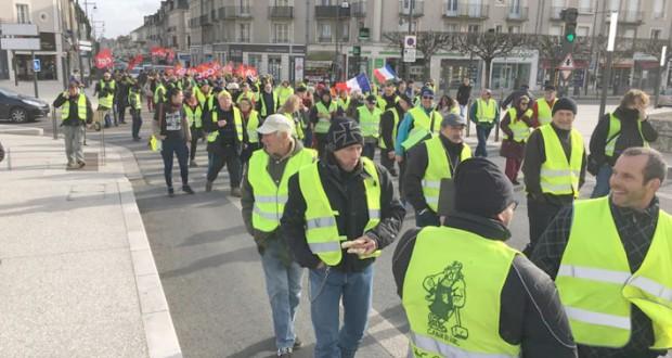 acte XIII de la mobilisation des «gilets jaunes» en France