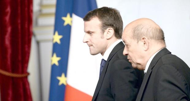 Macron-Le Drian