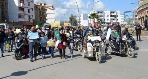 Marche des handicapés