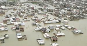 Iran Ordre d'évacuation des villes inondées