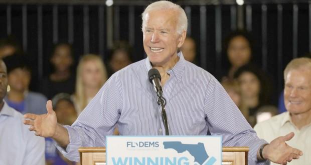 Joe Biden plus près d'une candidature à la Maison Blanche