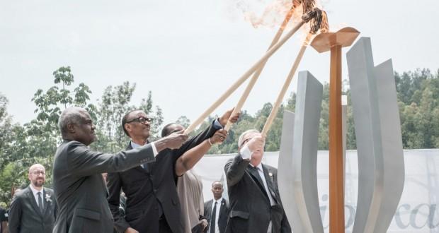 Le Rwanda uni comme une famille