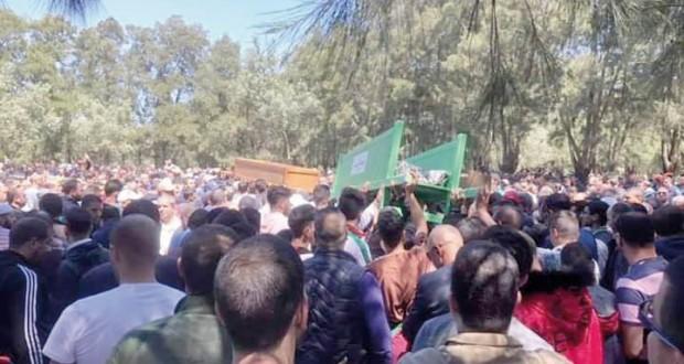 Les cinq victimes de l'effondrement de la bâtisse à la Basse-Casbah enterrées à Al-Alia