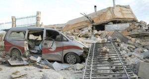 Trois hôpitaux touchés par des frappes russes dans le nord-ouest