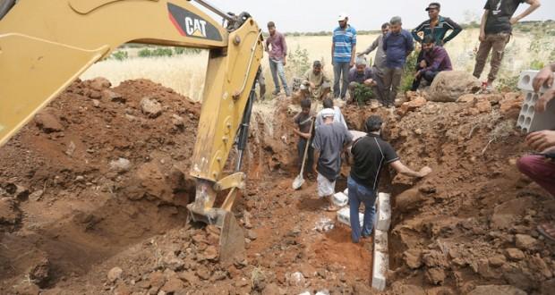 A Idleb, on creuse les tombes par avance