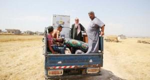 Des déplacés syriens contraints de vendre leurs meubles