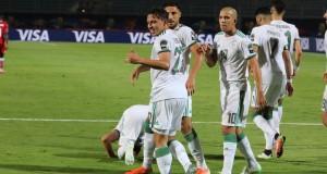 EN Algérie joie bennacer feghouli