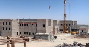 Construction d'un hôpital en Algérie