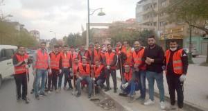 Draa Ben Khadda Volontariat pour le nettoyage de la ville
