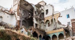 EFFONDREMENT DE L'ESCALIER D'UN IMMEUBLE À LA BASSE CASBAH