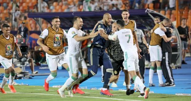 EN Algérie joie