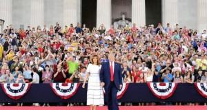 Face aux critiquesTrump exalte le rassemblement lors de la fête nationale