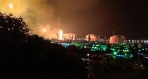 INCENDIE AU COMPLEXE DE LIQUÉFACTION DE GAZ à ARZEW