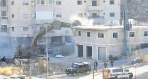 démolition de maisons palestiniennes