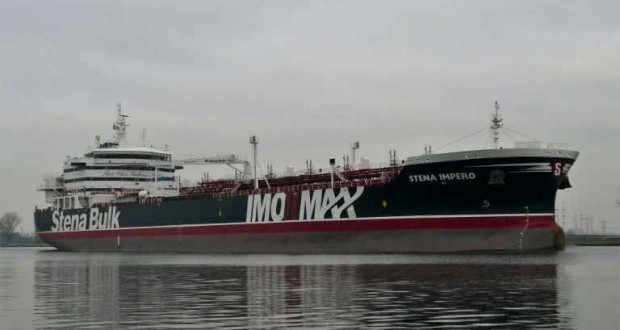 l'Iran saisit un pétrolier britannique