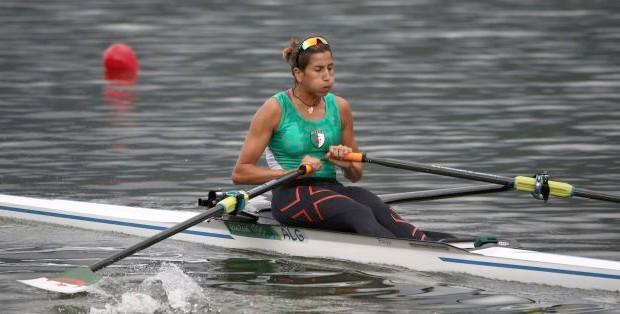 Amina ROuba aviron