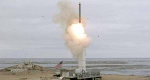 Essai d'un missile américain