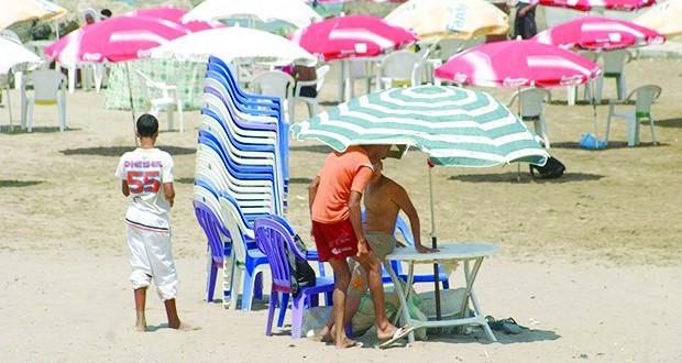 Exploitation illégale des plages à Alger