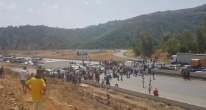 Route fermée à Lakhdaria