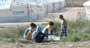 Migrants transférés en Grèce