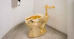WC en Or