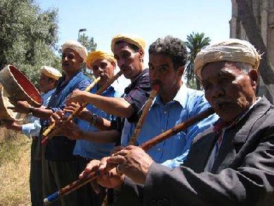 chants folkloriques et bédouins