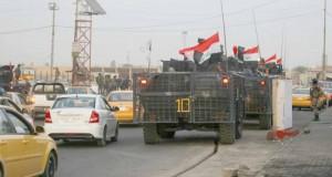 Première nuit de calme à Bagdad